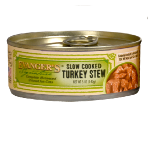 Evanger's Signature Series Slow Cooked Turkey Stew For Cats