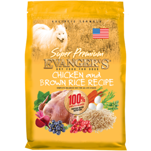Evanger's Super Premium Dry Food Chicken & Brown Rice Recipe