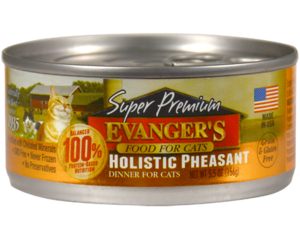 Evanger's Super Premium Wet Food Holistic Pheasant