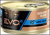 Evo 95% Animal Protein Duck Recipe In Gravy