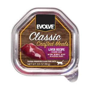 Evolve Classic Crafted Meals Liver Recipe For Cats