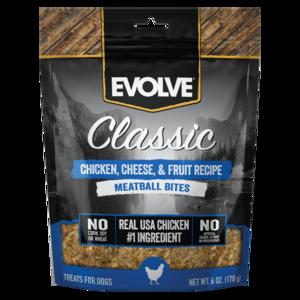 Evolve Classic Meatball Bites Chicken, Cheese & Fruit Recipe