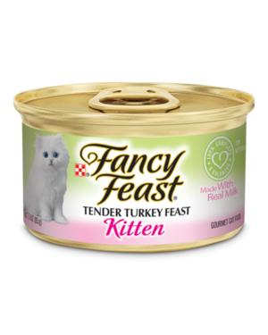 Fancy Feast Kitten Tender Turkey Feast