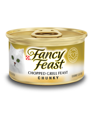 Fancy Feast Chunky Chopped Grill Feast