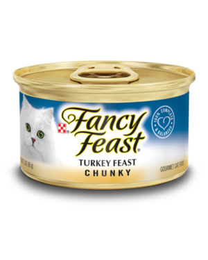 Fancy Feast Gourmet Wet Chunky Turkey Feast