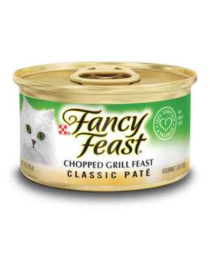 Fancy Feast Classic Pate Chopped Grill Feast