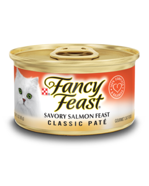 Fancy Feast Gourmet Wet Classic Savory Salmon Feast