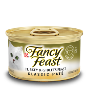 Fancy Feast Classic Pate Turkey & Giblets Feast