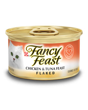 Fancy Feast Flaked Chicken & Tuna Feast
