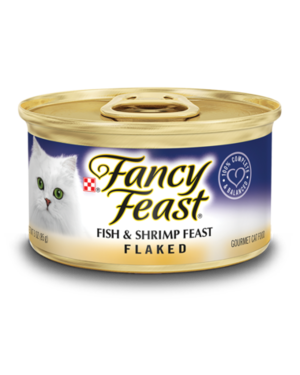 Fancy Feast Flaked Fish & Shrimp Feast