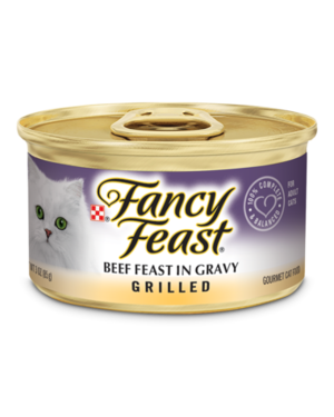 Fancy Feast Grilled Beef Feast In Gravy