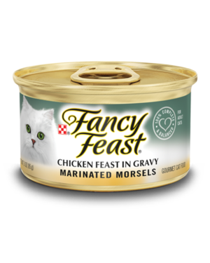 Fancy Feast Marinated Morsels Chicken Feast In Gravy