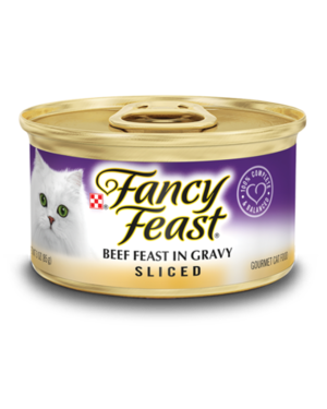 Fancy Feast Sliced Beef Feast In Gravy