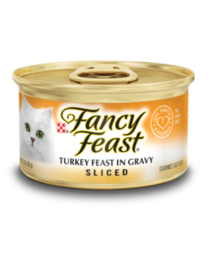 Fancy Feast Sliced Turkey Feast In Gravy