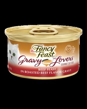 Fancy Feast Gravy Lovers Beef Feast In Roasted Beef Flavor Gravy