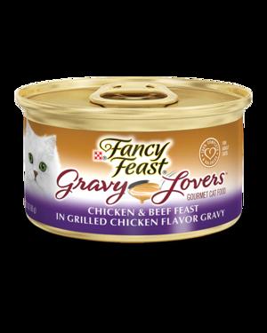 Fancy Feast Gravy Lovers Chicken and Beef Feast In Grilled Chicken Flavor Gravy