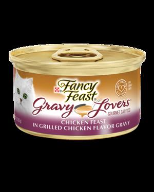 Fancy Feast Gravy Lovers Chicken Feast In Grilled Chicken Flavor Gravy