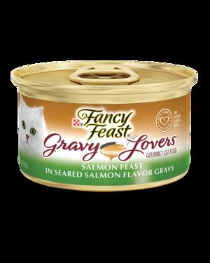 Fancy Feast Gravy Lovers Salmon Feast In Seared Salmon Flavor Gravy