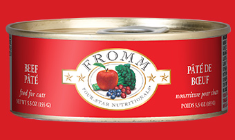 Fromm Four-Star Nutritionals Beef Pate