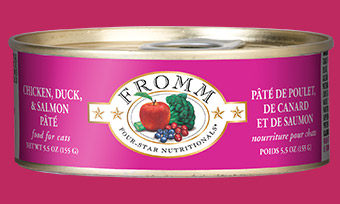 Fromm Four-Star Nutritionals Chicken, Duck and Salmon Pate For Cats