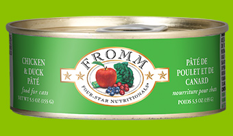 Fromm Four-Star Nutritionals Chicken and Duck Pate For Cats