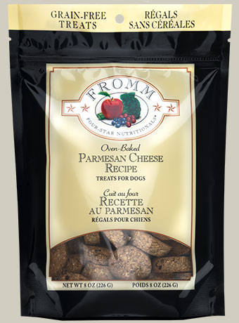 Fromm Four-Star Nutritionals Parmesan Cheese Recipe