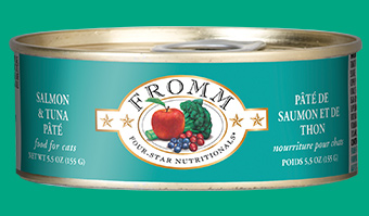 Fromm Four-Star Nutritionals Salmon and Tuna Pate For Cats