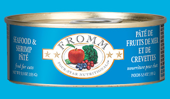 Fromm Four-Star Nutritionals Seafood & Shrimp Pate