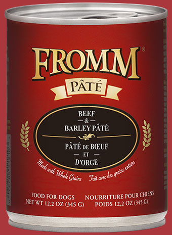 Fromm Gold Beef & Barley Pate