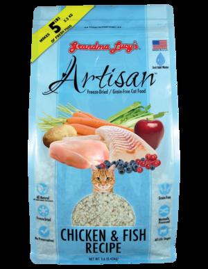 Grandma Lucy's Artisan Chicken & Fish Recipe