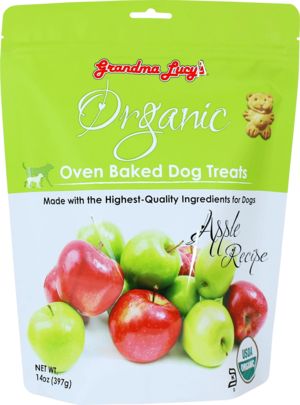 Grandma Lucy's Organic Oven Baked Dog Treats Apple Recipe