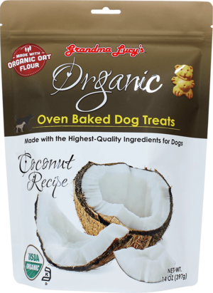 Grandma Lucy's Organic Oven Baked Dog Treats Coconut Recipe