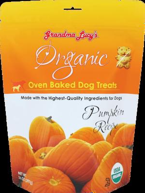 Grandma Lucy's Organic Oven Baked Dog Treats Pumpkin Recipe