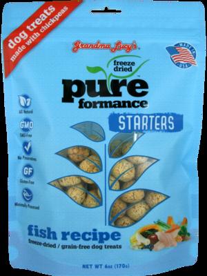 Grandma Lucy's PureFormance Starters Fish Recipe