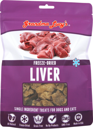 Grandma Lucy's Single Ingredient Treats Freeze-Dried Liver