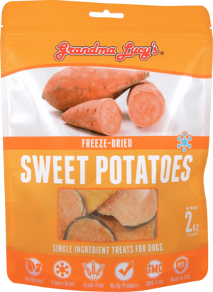 Grandma Lucy's Single Ingredient Treats Freeze-Dried Sweet Potatoes