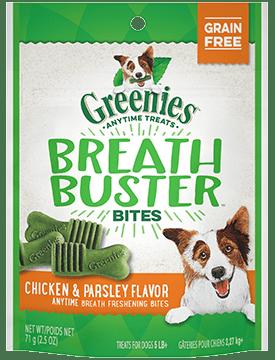 Greenies Breath Buster Bites Chicken & Parsley Flavor