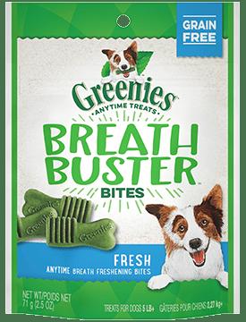 Greenies Breath Buster Bites Fresh