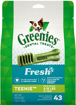 Greenies Fresh Teenie Dental Treats