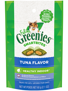 Greenies SmartBites Hairball Control Tuna Flavor