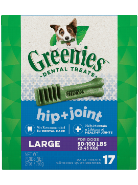 Greenies Hip + Joint Large Dental Treats