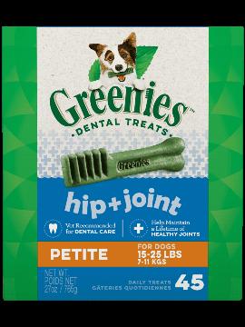 Greenies Hip + Joint Petite Dental Treats