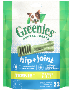 Greenies Hip + Joint Teenie Dental Treats