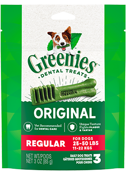 Greenies Original Regular Dental Treats