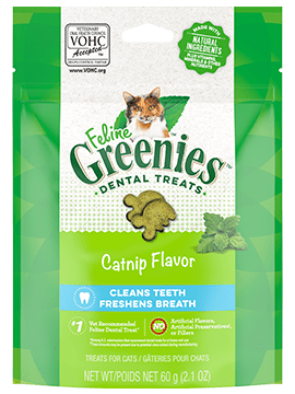 Greenies Dental Treats Catnip Flavor