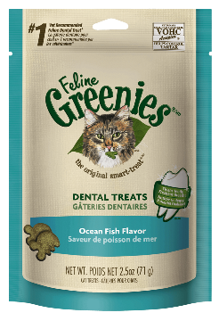 Greenies Dental Treats Ocean Fish Flavor
