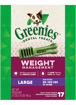 Greenies Weight Management Large Dental Treats