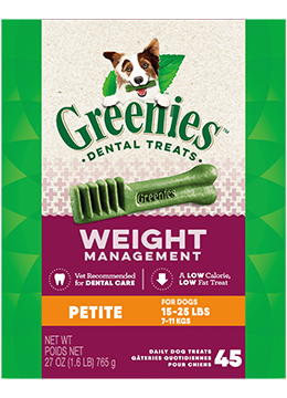 Greenies Weight Management Petite Dental Treats