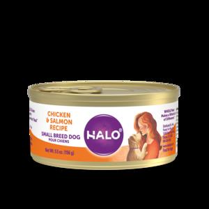 Halo Grain Free Small Breed Dog Chicken & Salmon Recipe