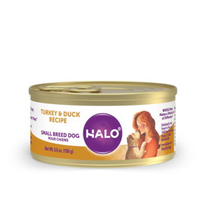 Halo Grain Free Small Breed Dog Turkey & Duck Recipe